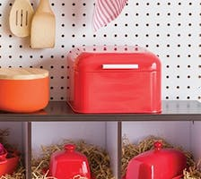 Now Designs Bakery Box, Red